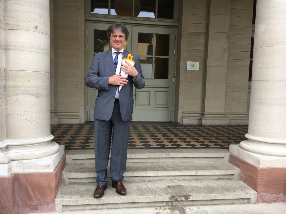 Verabschiedung von Herrn Werner Schmall, Vincentischüler 1960-1962 und Rektor 1993-2018
